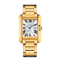 Cartier Tank Anglaise Automatic Ladies Watch Ref W5310015
