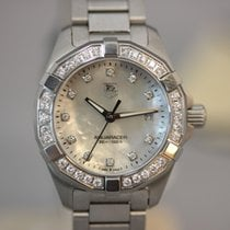TAG Heuer Aquaracer Lady Quarz 27 Mother of Pearl Dial Full...