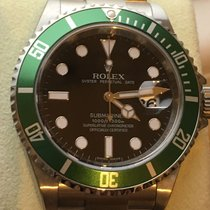 Rolex Submariner date Ghiera verde NOS,NUOVO,RRR,NEW