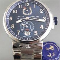 Ulysse Nardin MAXI Marine diver Power reserve Blue dial Arabic