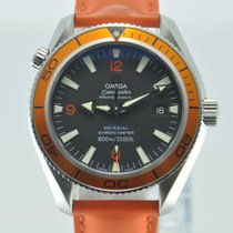 Omega Seamaster Planet Ocean Orange Automatic Rare Watch