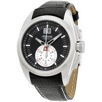 Alpina Nightlife Club Black Dial Leather Strap Men's Watch...