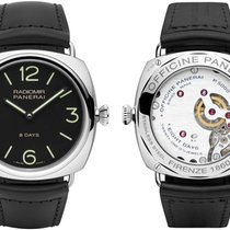 Panerai RADIOMIR BLACK SEAL 8 DAYS ACCIAIO - 45MM