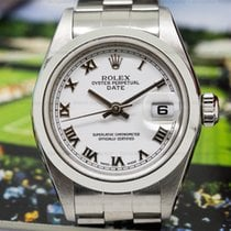 Rolex 179160 Oyster Perpetual Ladies Datejust White Roman Dial...
