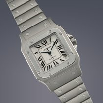 Cartier Santos XL Galbee stainless steel automatic watch FULL SET