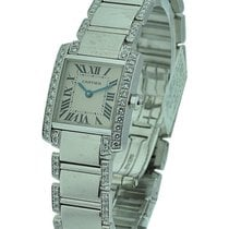 Cartier WE1002SF Tank Francaise Small Size with Diamond Case...