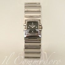 Omega Constellation Quadra 42 Diamonds