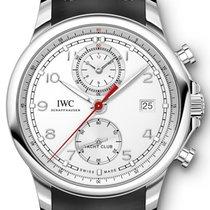 IWC Portuguese Yacht Club Chronograph Silver Dial IW390502