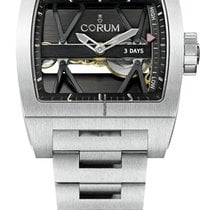 Corum T-BRIDGE TITANIUM POWER RESERVE - 100 % NEW