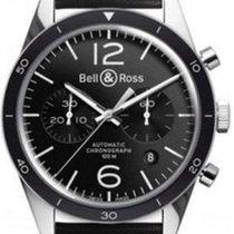 Bell & Ross BR 126 Black Bezel NEU mit Box + Papieren