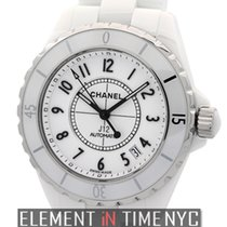 Chanel J12 White Ceramic Automatic 38mm Ref. H0970