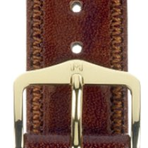 Hirsch Uhrenarmband Leder Ascot goldbraun 01575070-1-20 20mm