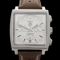 TAG Heuer Monaco Chronograph Stainless Steel Gents CW2112