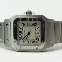 Cartier STEEL CURVED SANTOS LM 12RN DIAL