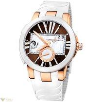 Ulysse Nardin Dual Time 18K Rose Gold Women`s Watch