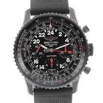 Breitling Navitimer Cosmonaute Blacksteel Limited Edition...