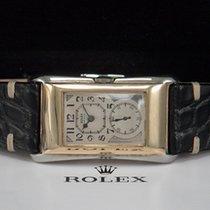 Rolex Prince DOCTORS WATCH Weißgold/Gelbgold aus 1937  New...