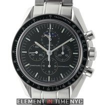 Omega Speedmaster Moonwatch Moonphase Stainless Steel 42mm...