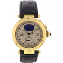 Cartier Men's 18K Yellow Gold Pasha de Cartier Moonphase...
