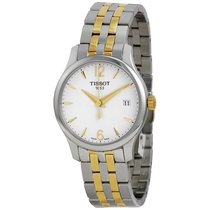 Tissot Tradition White Dial Two-tone Stainless Steel Ladies...