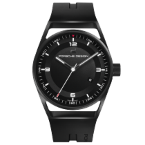 Porsche Design 1919 Datetimer Black & Rubber