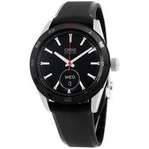 Oris Artix Black Dial Silicone Strap Men's Watch 735766244...