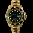 Rolex Submariner Ceramic 18k Yellow Gold Gents 116618LN