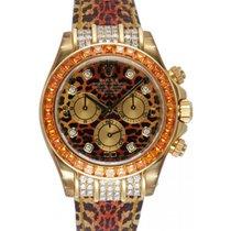 Rolex Cosmograph Daytona 116598 116598-LPRD Leopard Diamond...