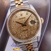 Rolex Oyster Datejust Diamond Computer Dial Half-gold Ref...