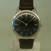 Omega vintage 1961 seamaster rare gilt dial with orig plexi...