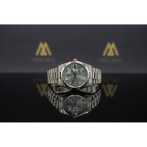 Rolex Day-Date - Platin - Diamanten - Ref. 118296 - Box &...