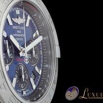 Breitling Chronomat 44 Edelstahl Blau/Schwarzes Zifferblatt |...