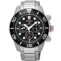 Seiko Uhren Herrenuhr Chronograph Solar SSC015P1