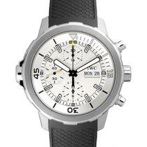 IWC Schaffhausen IW376801 Aquatimer Chronograph Silver Plated...