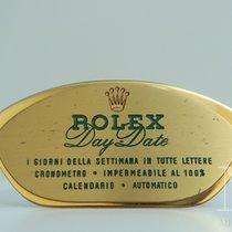 Rolex DAY-DATE Agent Officiel targa display stand dealer vintage