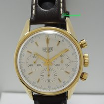 Heuer Carrera Chronograph 18k Gold