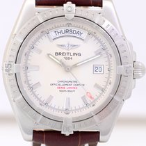 Breitling Headwind Automatic Chronometer Edelstahl silver dial...
