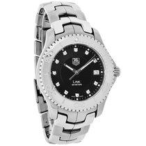 TAG Heuer Link Diamond Mens Black Watch WJ1113.BA0575