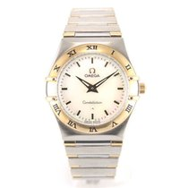 Omega Constellation lady gold and steel full set