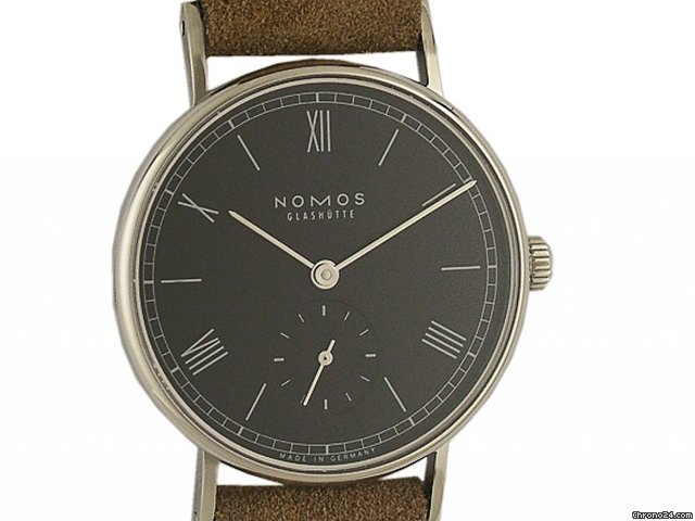 Nomos Glashtte Ludwig Glasboden 33mm