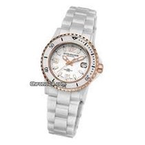 Stuhrling 272.11EP29 Leisure Ceramic Belladonna 2 Tone Ladies...