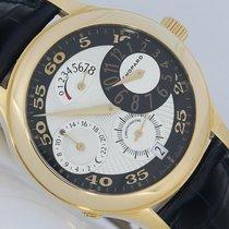 Chopard NEU Regulator 8 Tage GMT Gold