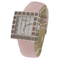 Chopard Ice Cube with Pink Sapphire Case and Pave Diamond Dial