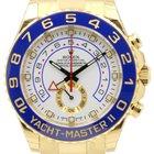 Rolex Yacht-Master II 116688 Men's 44mm 18k Yellow Gold...