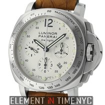 Panerai Luminor Collection Daylight Chronograph 44mm Ivory...