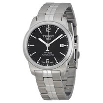 Tissot PR100 Automatic Black Dial Stainless Steel Men's Watch