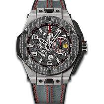 Hublot [NEW][LTD] Big Bang UNICO Ferrari Carbon 45mm 401.nj.01...