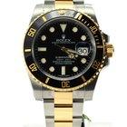 Rolex Submariner bi color steel gold black dial bezel 116613ln...