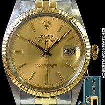 Rolex 16013 Datejust 18k/steel Quickset