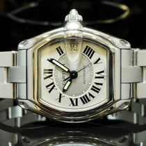 Cartier Roadster Auto, Mint, Box & Papers, Extra Strap